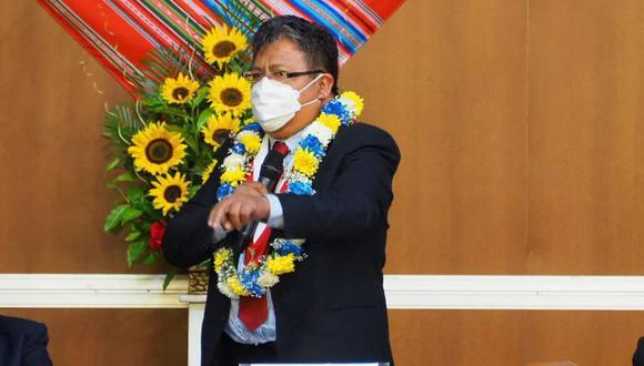 Jorge Flores Ancachi es congresista de Acción Popular por Puno. (Foto: Facebook)
