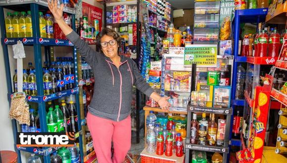 Conoce la historia de la 'Bodega Sarita' en Los Olivos. (Foto: Trome)