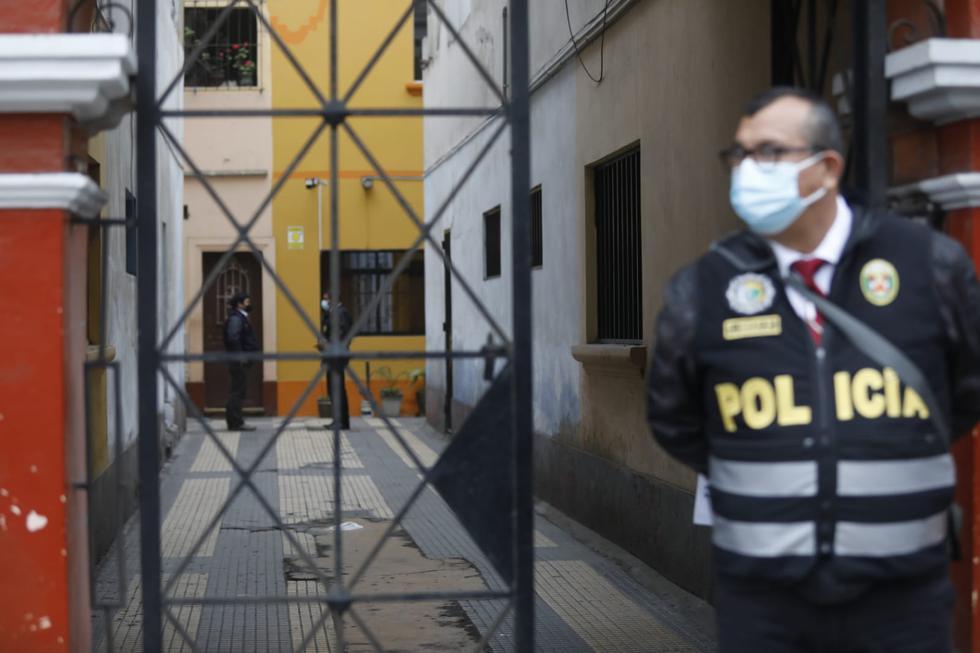 El juez Juan Carlos Sánchez Balbuena ordenó el allanamiento, registro e incautación de bienes a siete inmuebles de Perú Libre. (Foto: Diana Marcelo / @photo.gec)