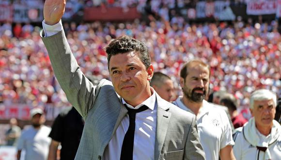 Marcelo Gallardo estuvo cerca de fichar por Barcelona (FOTO: AFP)