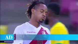 Selección peruana: André Carrillo se perdería la fecha triple por lesión