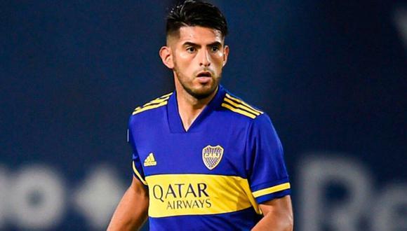 Carlos Zambrano tiene COVID-19. (Foto: Boca Juniors)