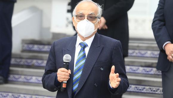 El ministro de Justicia, Aníbal Torres (Foto: Ministerio de Justicia)