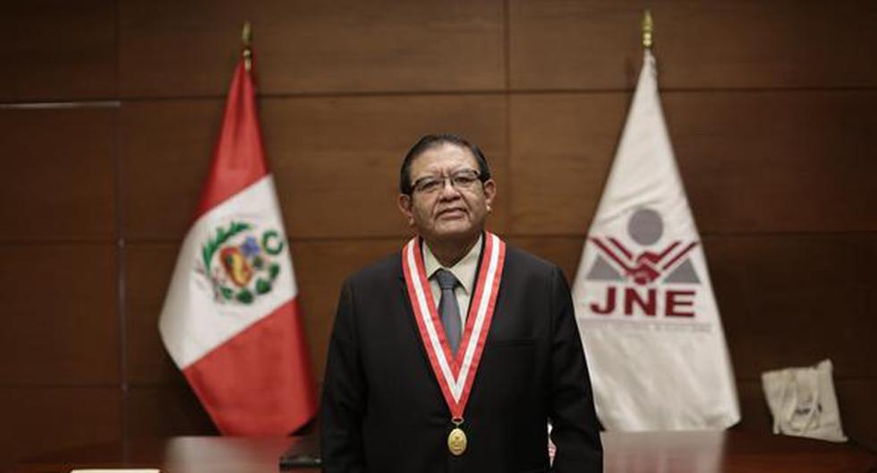 Presidente del JNE anuncia la transmisión pública de deliberación de actas impugnadas