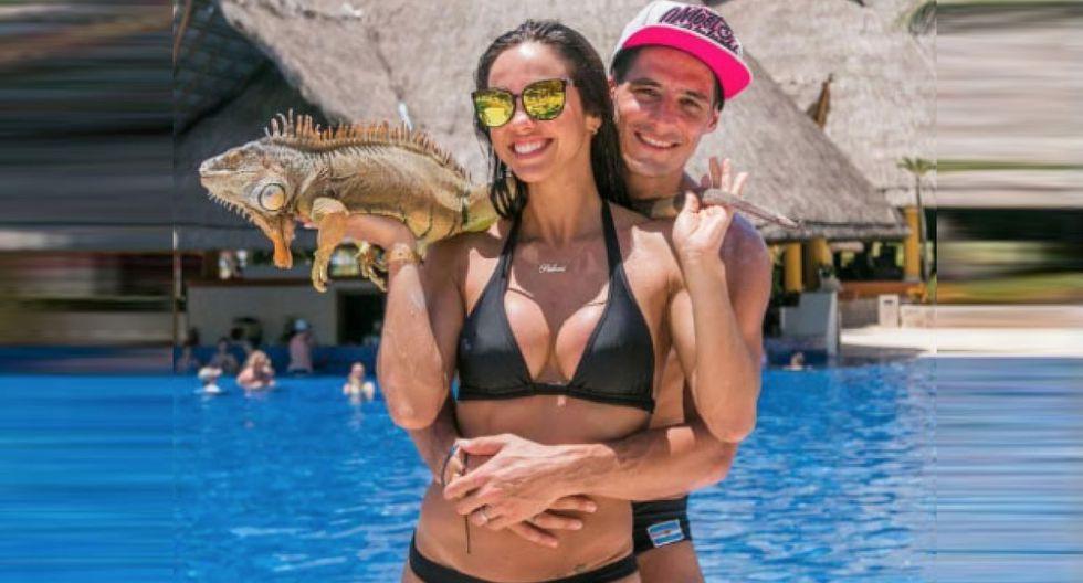 Paloma Fiuza y Facundo González adelantaron su 'luna de miel' en Colombia. (@palomafiuzaoficial)