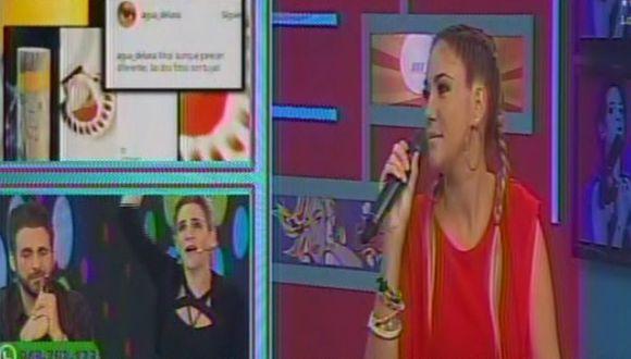 Tilsa Lozano le respondió a Blanca Rodríguez pero terminó 'chancando' al Loco Vargas