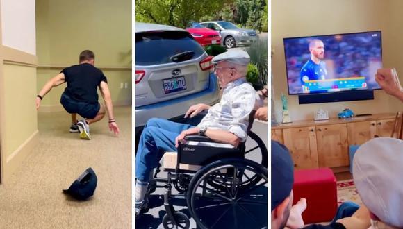 Zac Efron recogió a su abuelo de su residencia para que puedan pasar un tiempo en familia. (Foto: Instagram @zacefron)