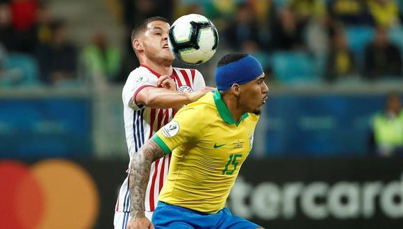 Copa América: Brasil vs Paraguay por los cuartos de final