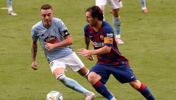 Barcelona no pudo de visita e igualó con Celta de Vigo