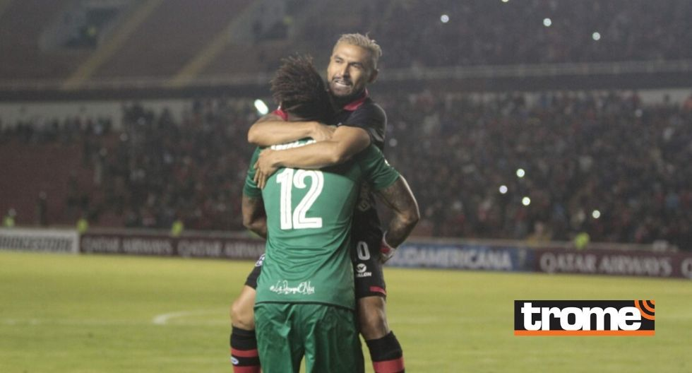Melgar celebra triunfo ante Nacional Potosí por la Copa Sudamericana (Foto: Trome)