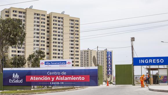 Centro de Atención y Aislamiento para pacientes COVID en la Villa Panamericana vienen atendiendo los casos durante la pandemia. (Foto: César Zamalloa / GEC Archivo)