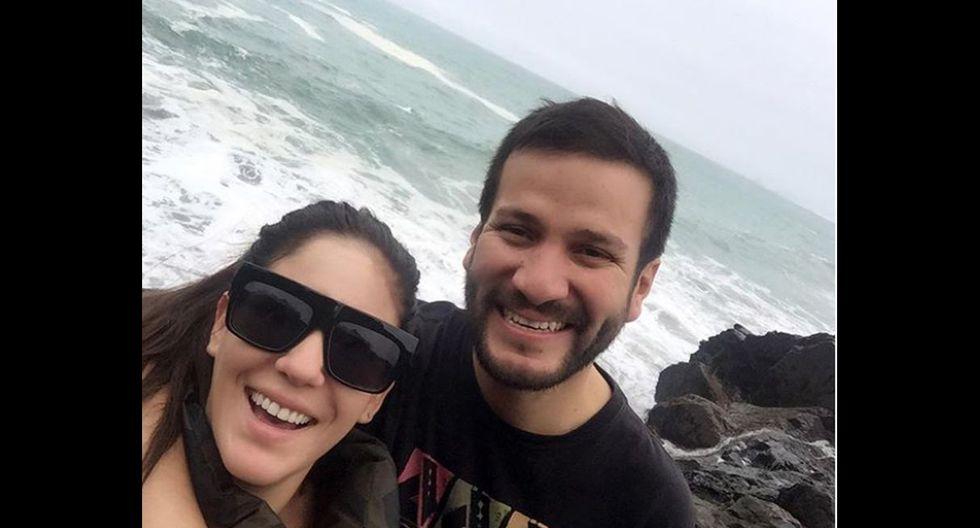 Tilsa Lozano y Miguel Hidalgo