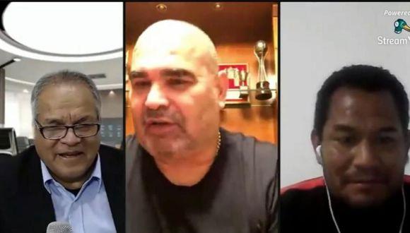 Jhonny Vegas y los halagos que recibió de Jose Luis Chilavert. (Video: KNK Noticias)