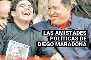 Diego Maradona: su amistad con Fidel Castro, Hugo Chávez y Nicolás Maduro