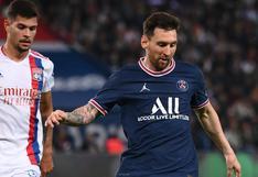 PSG derrotó 2-1 al Lyon en el debut de Lionel Messi en el Parque de los Príncipes