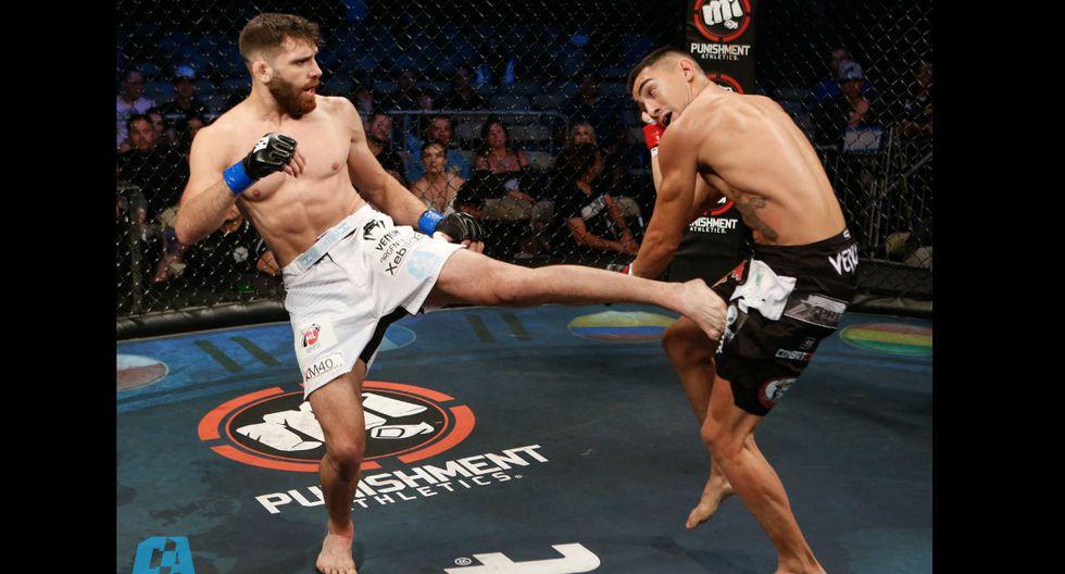 El argentino Bruno Cannetti es el primer campeón sudaméricano de Combate Américas. (Fotos: Combate Américas)