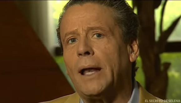 Alfredo Adame salió hablando mal de Andrea Legarreta (Foto: Captura Telemundo)