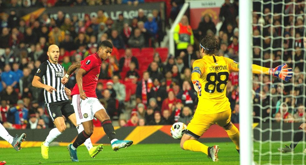 Manchester United vs. Partizán EN VIVO por el Grupo L de la Europa League