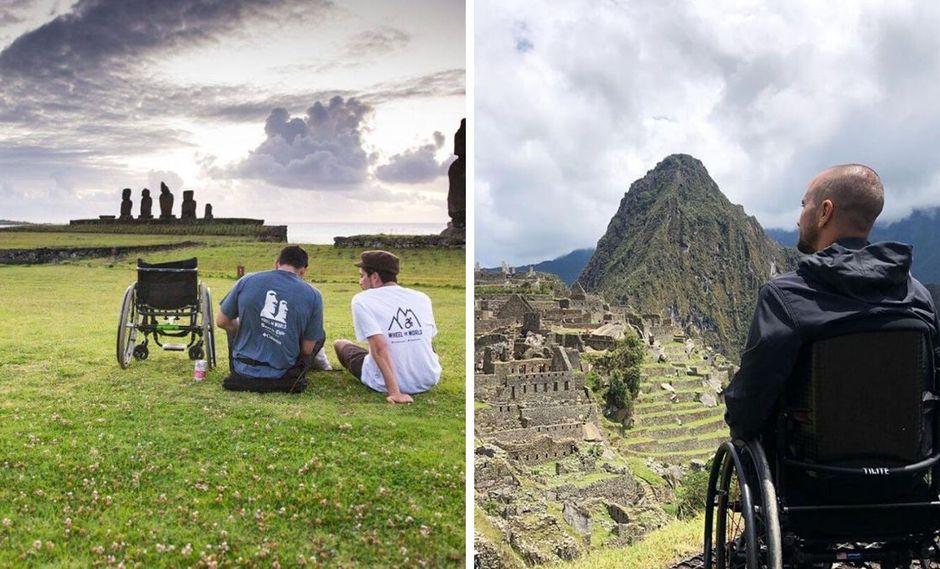 Una empresa inclusiva para que todos puedan viajar. (Foto: Facebook Wheel The World)
