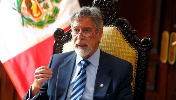 El presidente Francisco Sagasti consideró que el Perú no se encuentra polarizado tras las elecciones. (Foto Twitter @presidenciaperu)