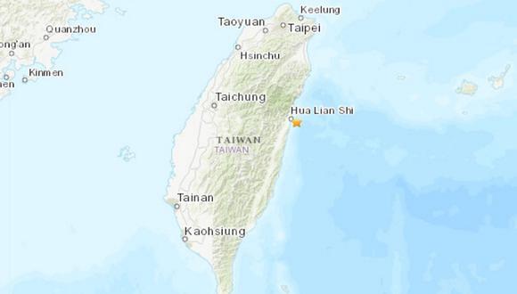 Estas réplicas se han producido dos días después de que, este miércoles, el país asiático registrara una treintena de temblores -uno de hasta 5,2 grados en la escala local- en cinco horas en la misma ubicación. (Foto: USGS)