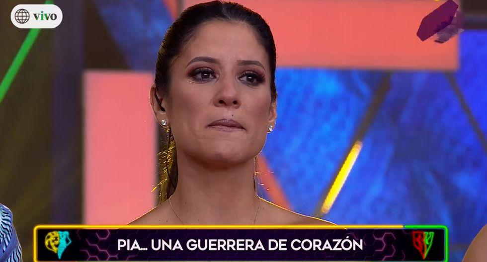 Maria Pía Copello se despide entre lágrimas de la conducción de 'Esto es Guerra'