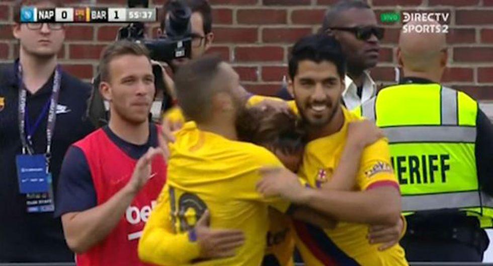 Gol 2 de Barcelona