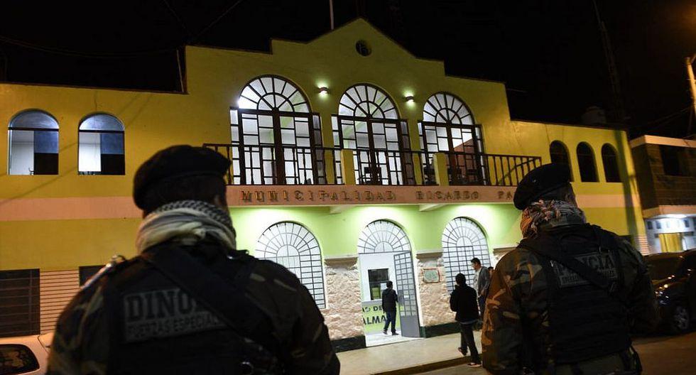 Detienen a alcalde de Municipalidad de Ricardo Palma acusado de liderar banda criminal