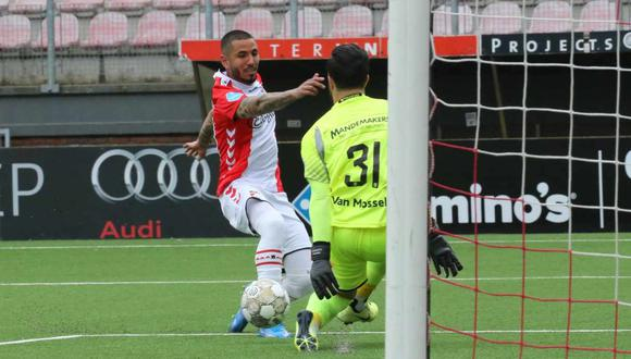 Sergio Peña ingresó al once ideal de la Eredivisie en el mes de mayo. (Foto: FC Emmen)