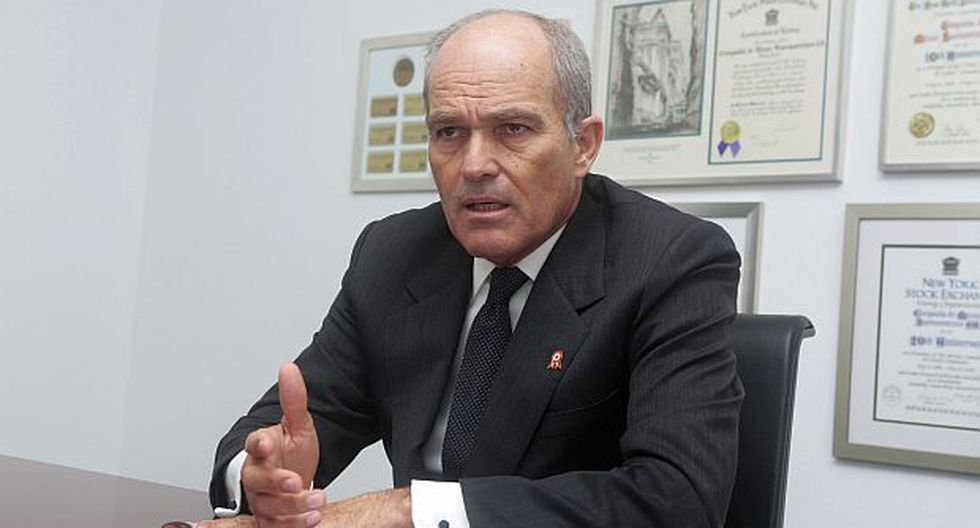 """Creo que él [Olaechea] es un hombre muy dialogante"", sostuvo Roque Benavides. (Foto: GEC)"
