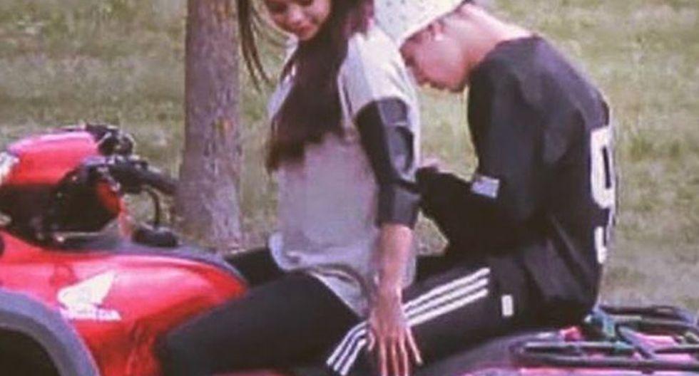 Justin Bieber y Selena Gomez. Foto: Instagram