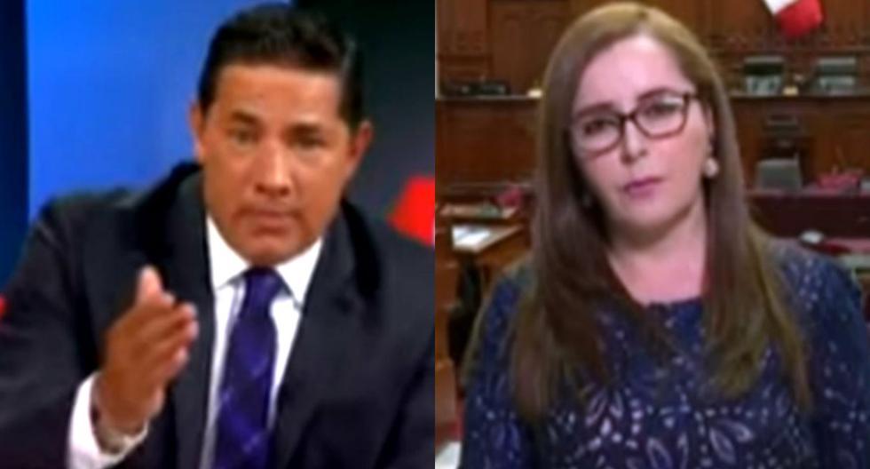 Periodista de CNN califica de 'tramposa' estrategia del fujimorismo tras cierre del Congreso y Bartra se indigna. Foto: Captura de pantalla de YouTube de CNN