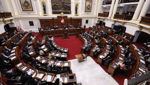 El presidente del Consejo de Ministros, Guido Bellido, solicitó el voto de confianza ante el pleno. (Foto: Congreso)