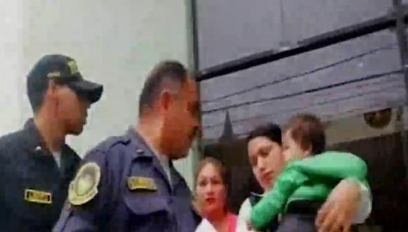 Aparece bebé desaparecido en Ancón (TROME)