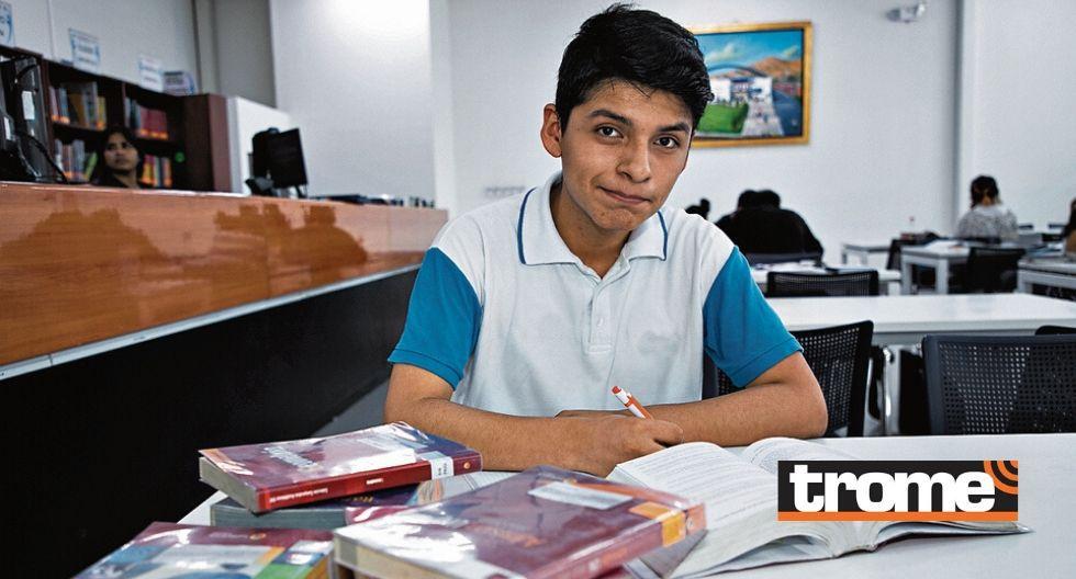 Alessandro estudiará Ingeniería de Minas y le dedica su esfuerzo a su papá fallecido