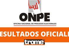 Elecciones 2020: Conoce aquí los resultados de la ONPE al 61 % | EN VIVO | Cifras actualizadas por el organismo electoral