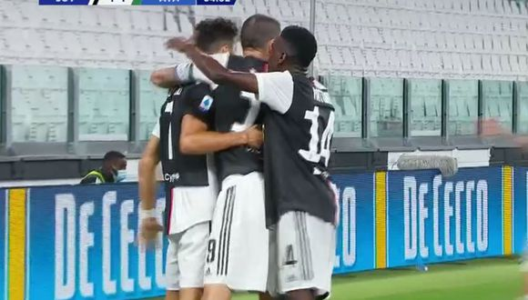 Gol 27 de Cristiano Ronaldo en la Serie A