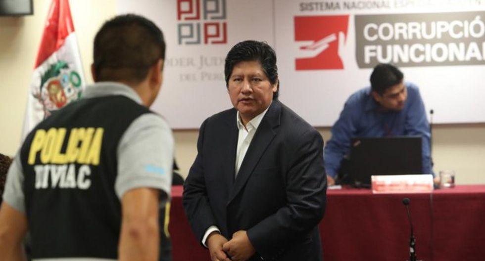 Edwin Oviedo no dio ninguna orden de matar, asegura su abogado. (Foto: Rolly Reyna/GEC)