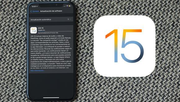 iOS 15 de Apple: conoce qué novedades tiene el venidero sistema operativo del iPhone | (Foto: Mockup)