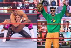 Ángel Garza retó a Bad Bunny en WWE Monday Night RAW; pero cayó ante Damian Priest