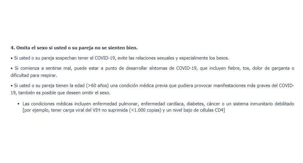 """Gobierno de Colombia lanzó guía de sexualidad """"ABC sobre las relaciones sexuales y la enfermedad por Coronavirus (covid-19)"""""""
