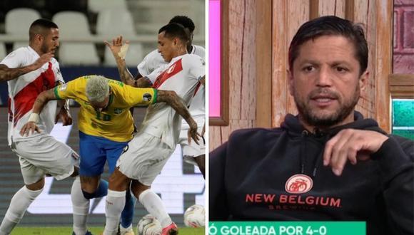Pedro García dio con palo a la selección peruana tras dura derrota ante Brasil por Copa América 2021.