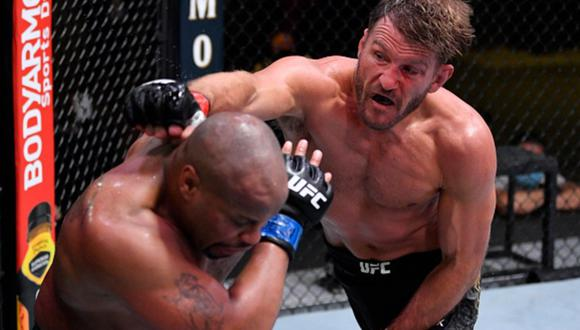 Stipe Miocic y Daniel Cormier libraron una gran batalla, pero el triunfo fue para el campeón. (UFC)