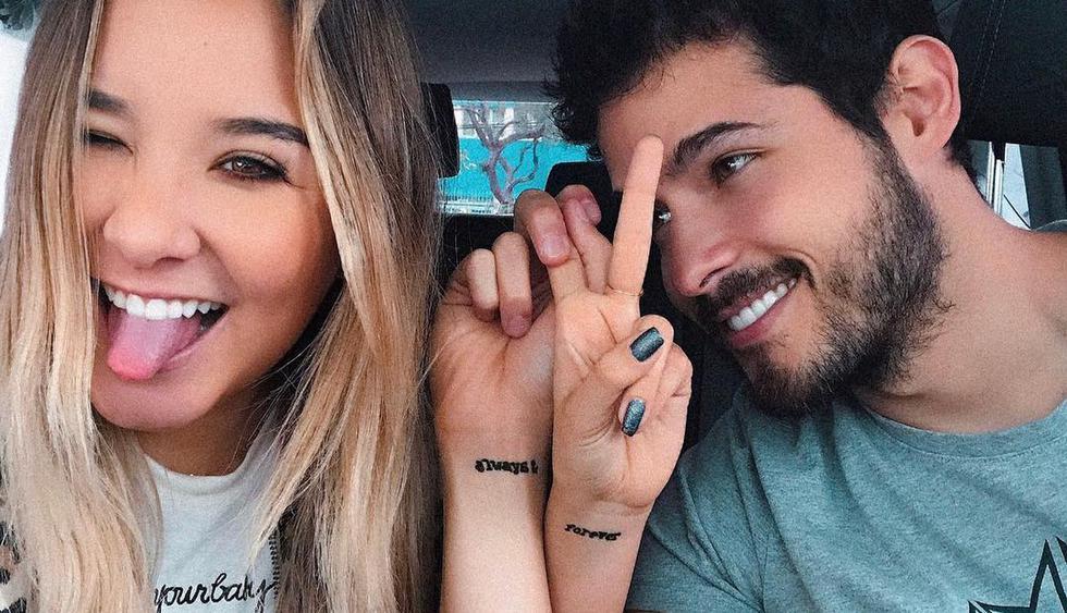 Alessandra Fuller y Andrés Vílchez viajaron a MIami y se divierten juntos en Orlando. (Foto:@alefuller)