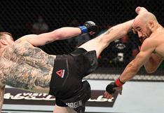 Estos fueron los más brutales e impactantes nocauts que dejó el UFC en el 2020   VIDEOS