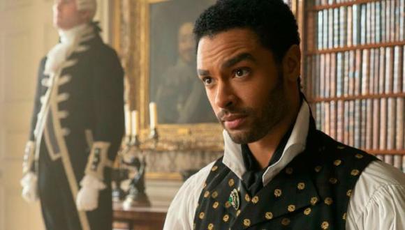 """Regé-Jean Page, actor de la serie """"Bridgerton"""", protagonizará la nueva versión de """"El Santo"""". (Foto: Netflix)."""
