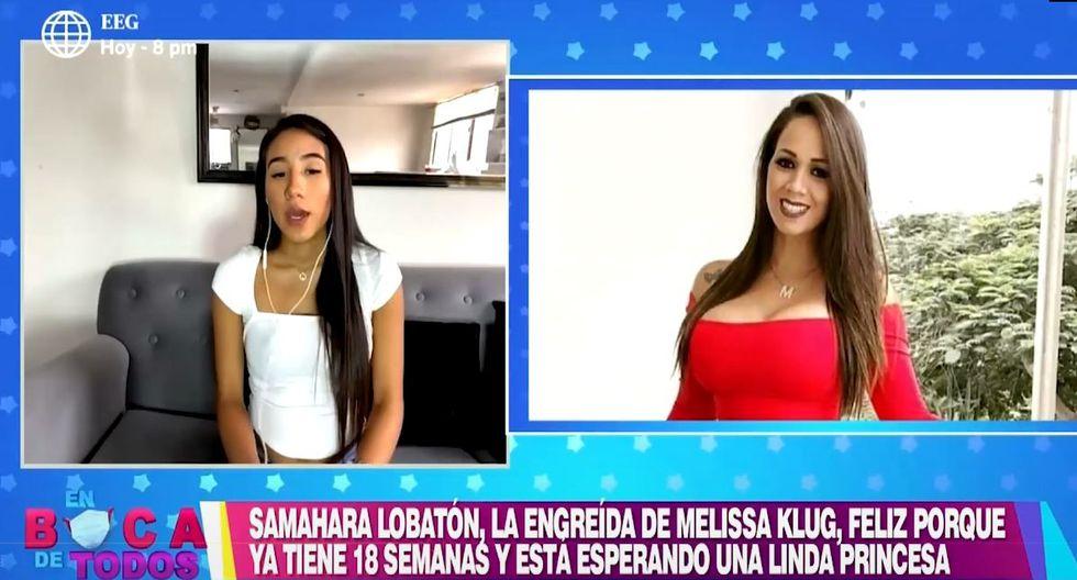 Samahara Lobatón y su conmovedor mensaje a su mamita
