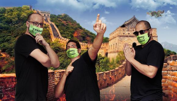 """La agrupación peruana Kanaku y El Tigre lanzó una nueva canción, """"Abre los brazos como un avión"""", que fue grabada durante la cuarentena. (Foto: Facebook)"""