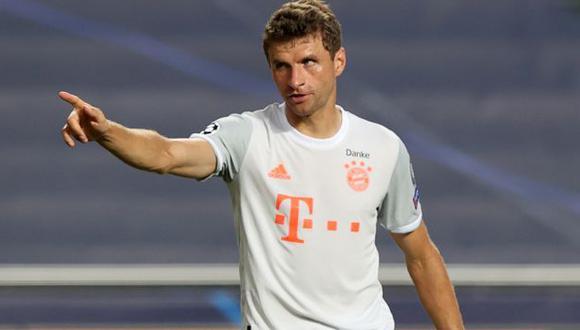 'Iban 4, 5, 6, 7 y 8 pepas, y Muller no sufrió ningún rasguño' (Foto: AFP)
