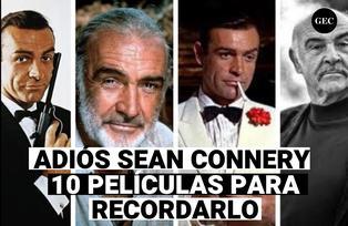 Sean Connery: 10 películas para recordar su larga trayectoria